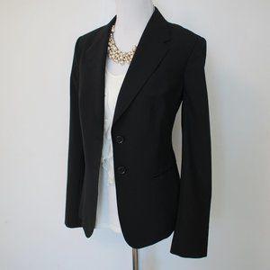 THE LIMITED Size 10 Black Suit Jacket Blazer